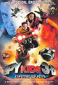 Spy Kid 3-D Game over