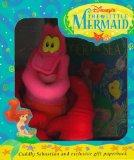 The Little Mermaid Book and Sebastian Plush - Walt Disney - Book and Toy - BOOK & TOY