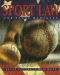 Sport Law for Sports Managers