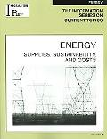 Energy Supplies, Sustainability, And Costs