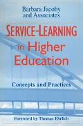 Service-Learning in Higher Education Concepts and Practices