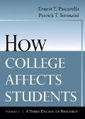 How College Affects Students A Third Decade Of Research