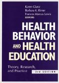 Health Behavior and Health Education Theory, Research, and Practice