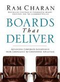 Boards That Deliver Advancing Corporate Governance From Compliance To Creating Competitive A...