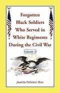 Forgotten Black Soldiers Who Served in White Regiments During the Civil War : Volume II