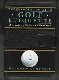 DK Pocket Guide to Golf Etiquette: A Guide to Rules and Behavior