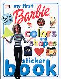 Barbie-My First Colors and Shapes Sticker Book