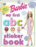Barbie My First ABC Sticker Book