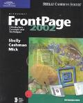 Microsoft Frontpage 2002 Introductory Concepts and Techniques