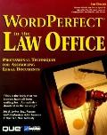 WordPerfect for Windows in the Law Office