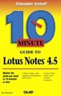 10 Minute Guide to Lotus Notes 4.5 - Susan Plumley - Paperback