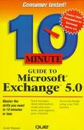 10 Minute Guide to Microsoft Exchange - Scott L. Warner - Hardcover
