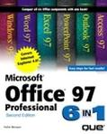 Microsoft Office 97 Professional 6 in 1