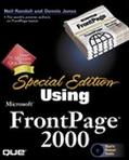 Special Edition Using Microsoft Frontpage 2000
