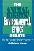 Animal Rights/environ.ethics Debate