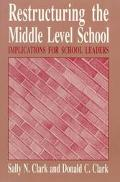Restructuring the Middle Level School Implications for School Leaders