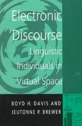 Electronic Discourse Linguistic Individuals in Virtual Space
