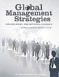 Global Management Strategies: Sales, Design, Manufacturing and Operations (Technical Manager...