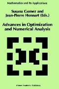 Advances in Optimization and Numerical Analysis Proceedings of the Sixth Workshop on Optimization and Numerical Analysis, Oaxaca, Mexico