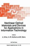 Nonlinear Optical Materials and Devices for Applications in Information Technology Proceedin...
