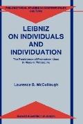 Leibniz on Individuals and Individuation The Persistence of Premodern Ideas in Modern Philos...