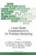 Large Scale Computations in Air Pollution Modelling