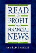 How to Read and Profit from Financial News - Gerald Krefetz - Hardcover - 2nd ed