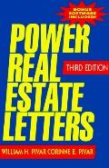 Power Real Estate Letters A Professional's Resource for Success