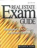 Real Estate Exam Guide Designed for Asi Sales and Broker Exams