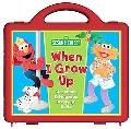 Sesame Street When I Grow Up Storybook and Magnetic Dress-up Dolls