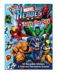 Marvel Heroes Save the Day A Panorama Sticker Storybook (Marvel Panorama Stickerbook)