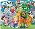 Fisher-Price Lift-the-Flap Let's Go to the Zoo