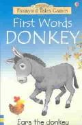First Words Donkey