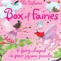 Box of Fairies 6 Fairy-Shaped 4-Piece Jigsaw Puzzles