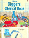 Diggers Stencil Book