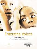 Emerging Voices A Report On Education In South African Rural Communities