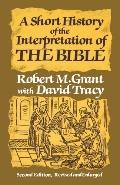 Short History of Interp.of the Bible
