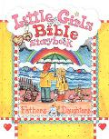 Little Girls Bible Storybook Fathers and Daughters
