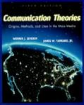 Communication Theories Origins, Methods, and Uses in the Mass Media