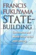 State-Building Governance and World Order in the 21st Century