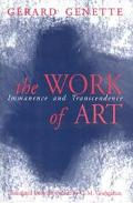 Work of Art Immanence and Transcendence