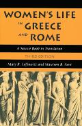 Women's Life in Greece And Rome A Source Book in Translation
