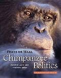 Chimpanzee Politics Power and Sex among Apes