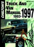 Chilton's Truck, Van & Suv Repair Manual 1993-1997