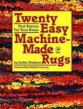 Twenty Easy Machine-Made Rugs - Jackie Dodson - Paperback