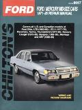 Chilton's Ford Mid Size Cars 1971-85 Repair Manual