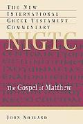Gospel Of Matthew A Commentary On The Greek Text