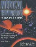 Medical Terminology Simplified: A Programmed Learning Approach by Body Systems (Book with 2 ...