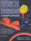 Medical Terminology Simplified (Book and Audiocassette) with CDROM