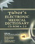 Tabers Electronic Medical Dictionary Cd-Rom V. 2.0